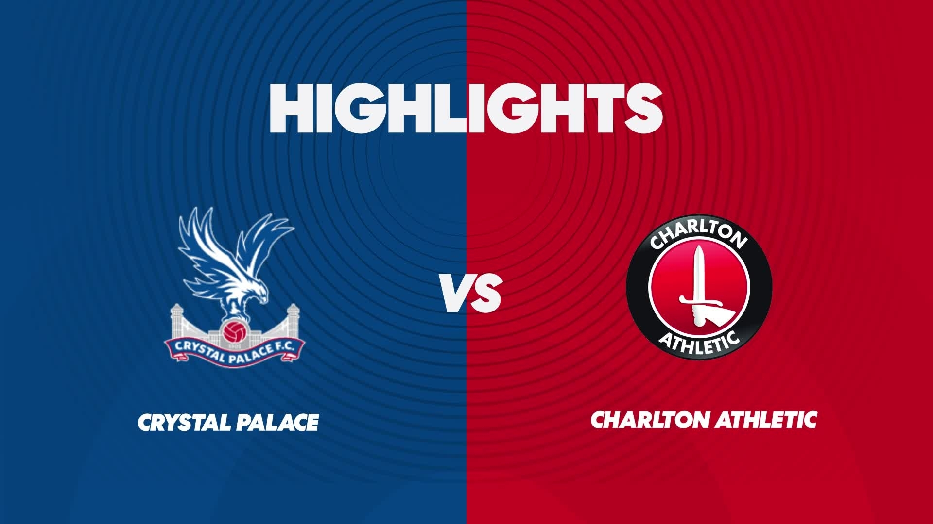 WOMEN'S TEAM | Crystal Palace 1 Charlton 1 (March 2021)