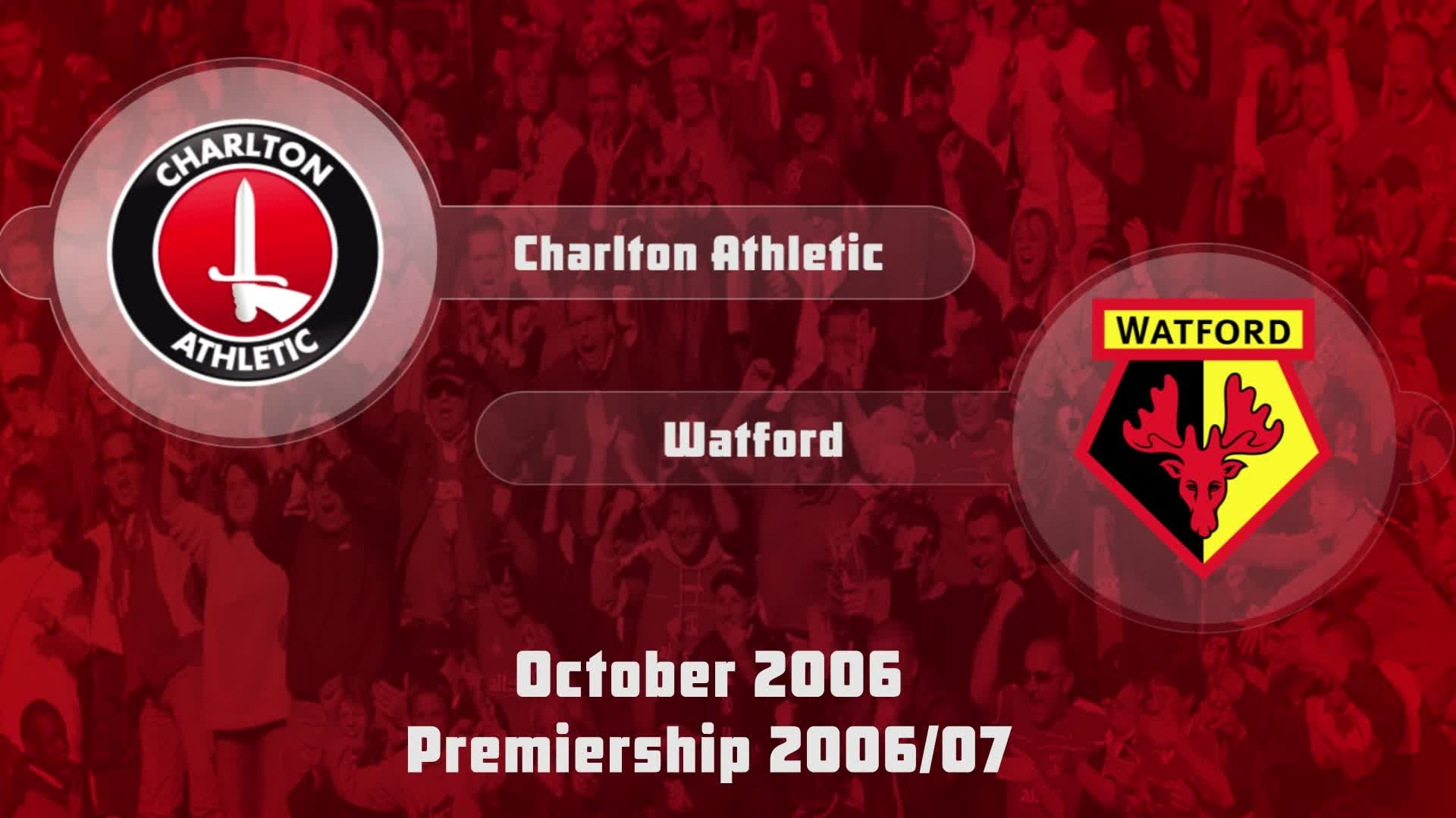 10 HIGHLIGHTS | Charlton 0 Watford 0 (Oct 2006)