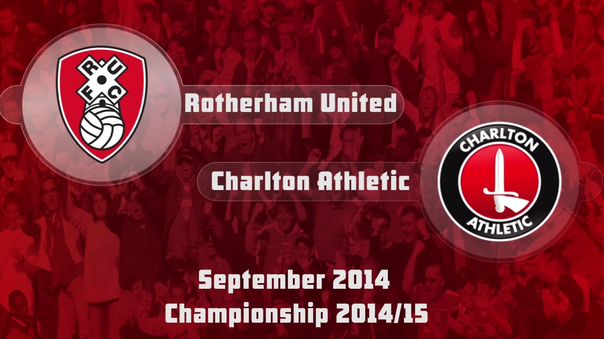 10 HIGHLIGHTS | Rotherham 1 Charlton 1 (Sept 2014)