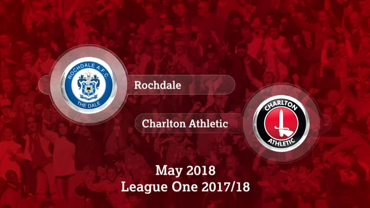 GOALS | Rochdale 1 Charlton 0 (May 2018)