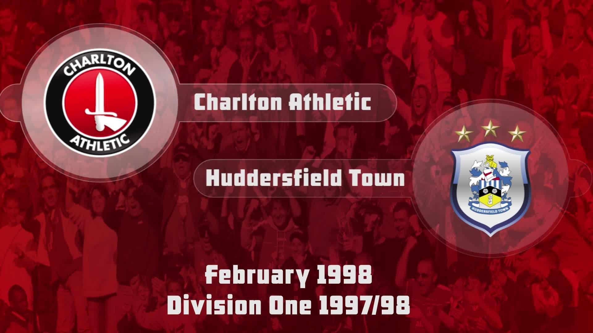 39 HIGHLIGHTS | Charlton 1 Huddersfield 0 (Feb 1998)