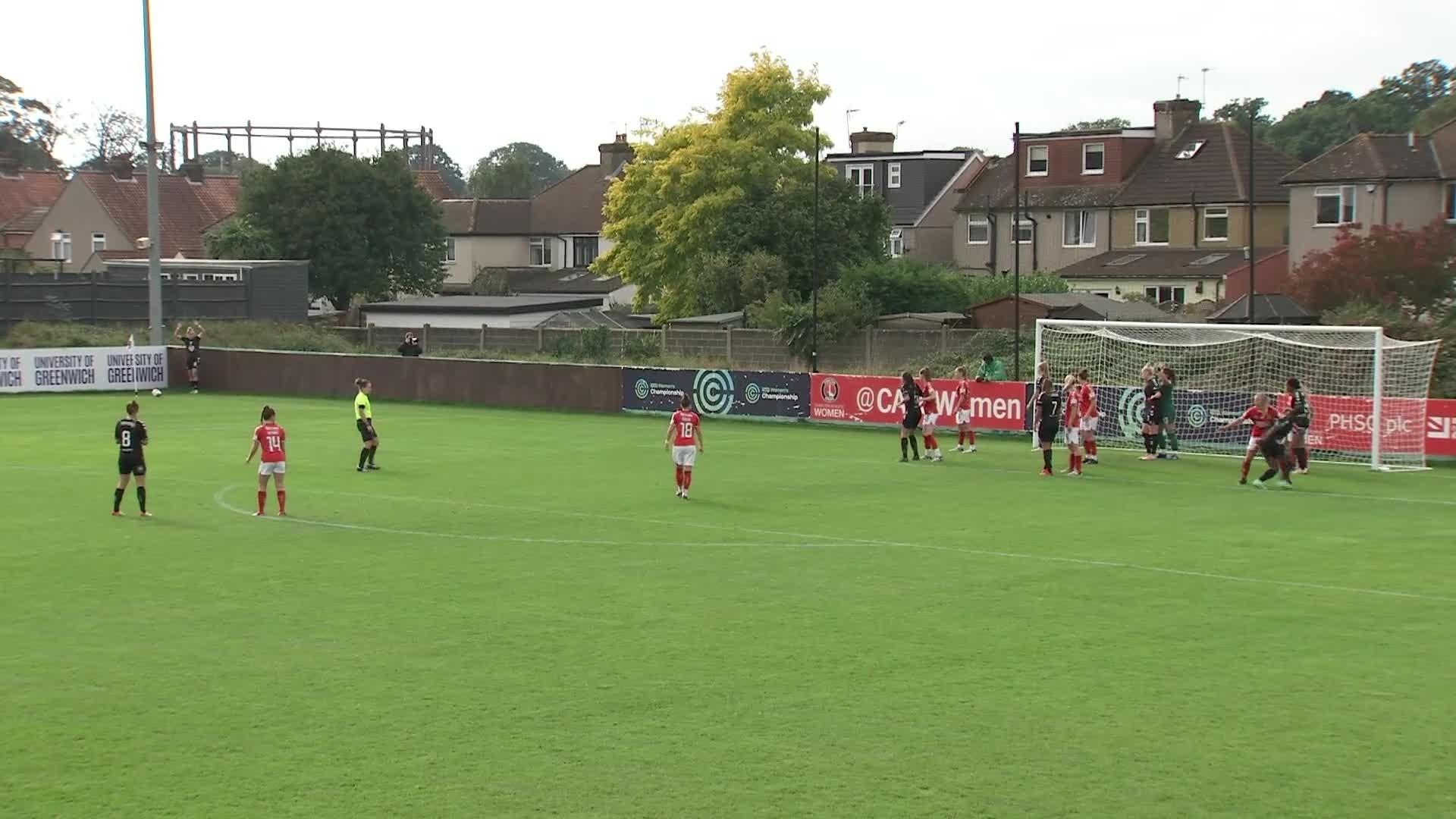 WOMEN'S TEAM | Charlton 2 Bristol City 1 (October 2021)