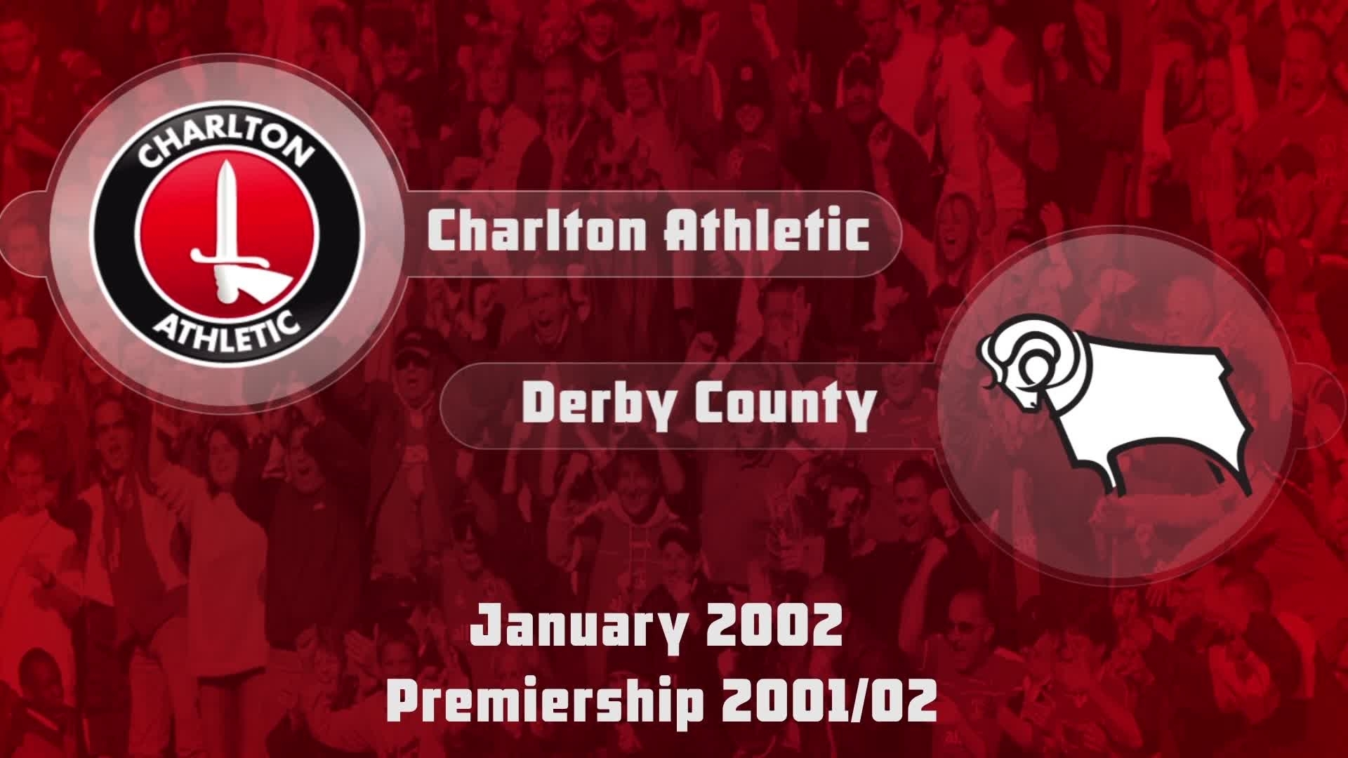 29 HIGHLIGHTS | Charlton 1 Derby 0 (Jan 2002)