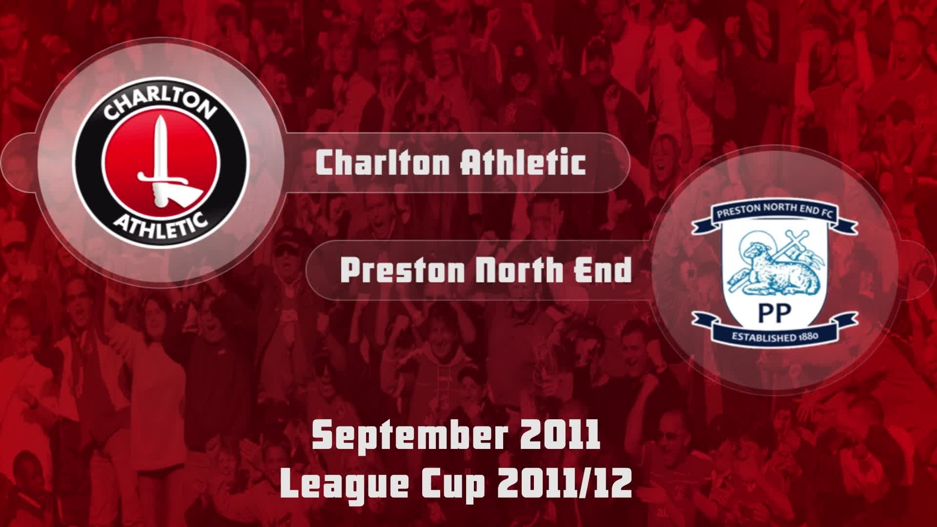 09 HIGHLIGHTS | Charlton 0 Preston North End 2 (League Cup Sept 2012)