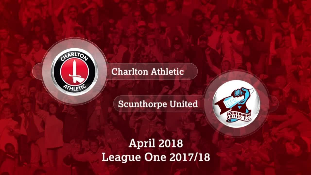 GOALS |  Charlton 0 Scunthorpe 1 (April 2018)