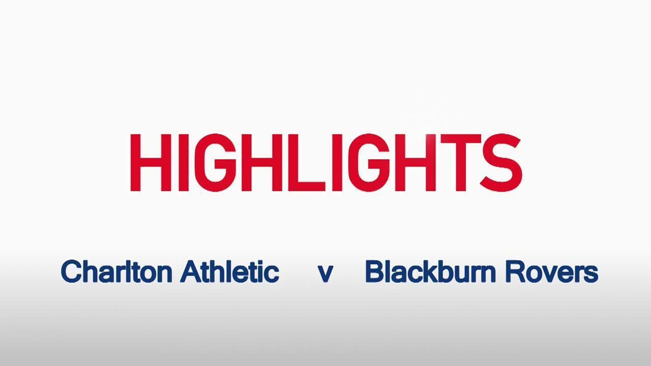 32 HIGHLIGHTS |  Charlton 1 Blackburn 1 (Jan 2016)