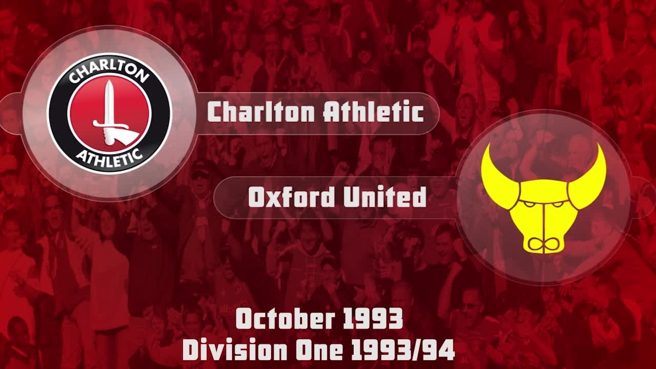 19 HIGHLIGHTS | Charlton 1 Oxford 0 (Oct 1993)