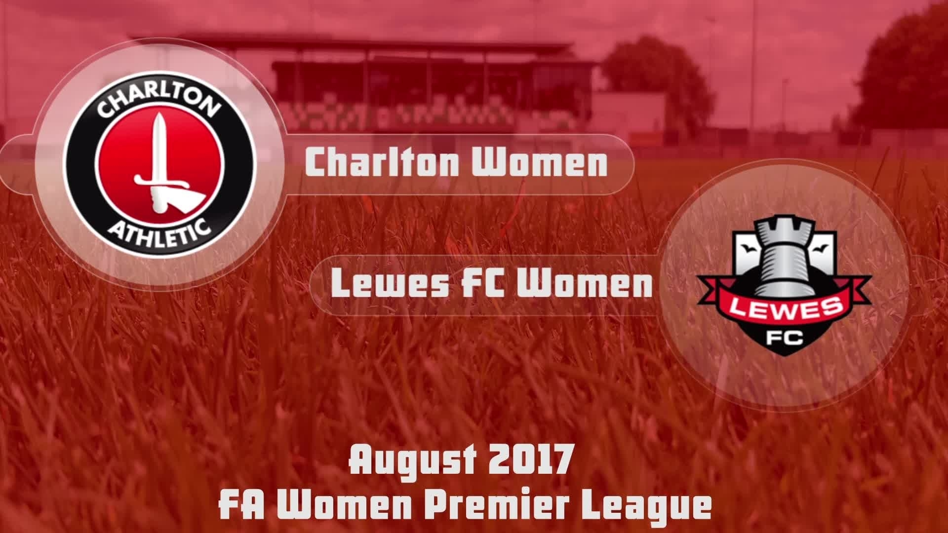 WOMEN'S TEAM HIGHLIGHTS | Charlton 6 Lewes 1