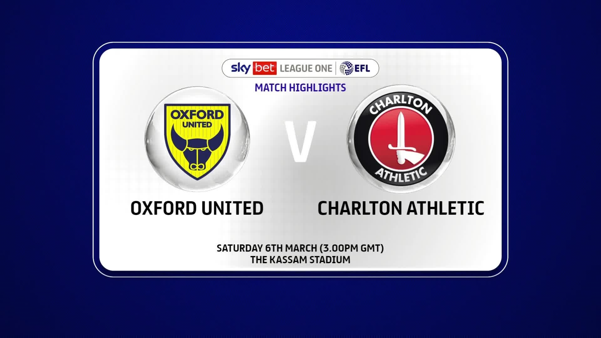 HIGHLIGHTS | Oxford United 0 Charlton 0 (March 2021)