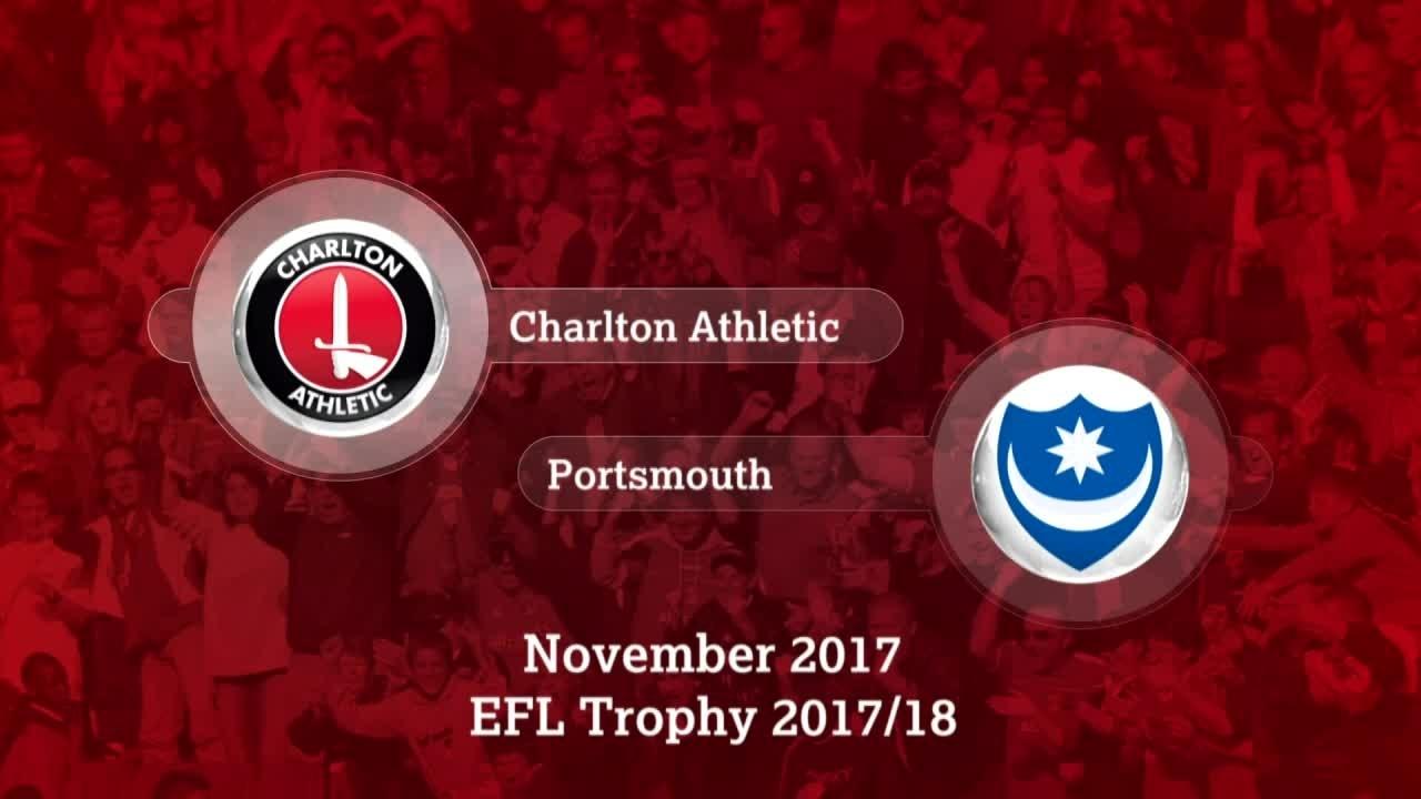 GOALS | Charlton 0 Portsmouth 1 (Checkatrade Trophy)