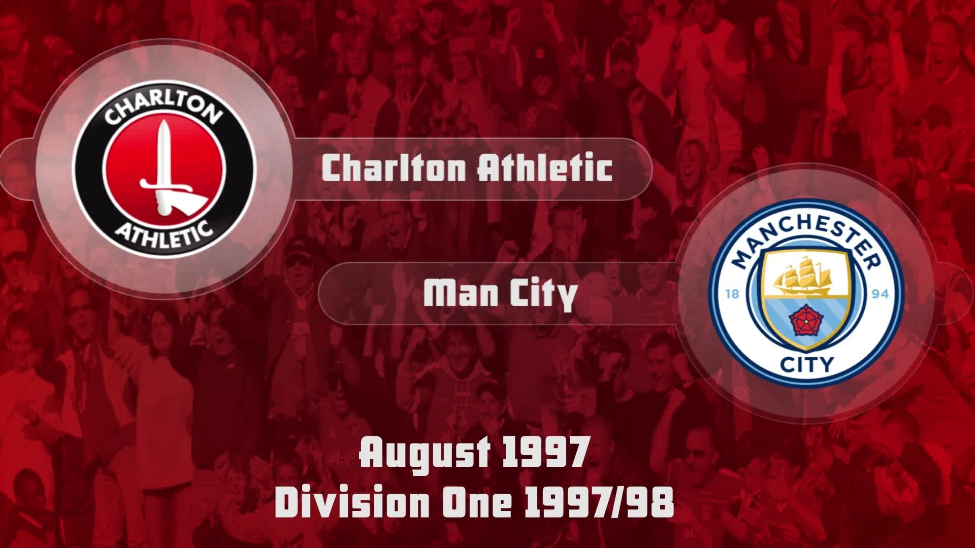 06 HIGHLIGHTS | Charlton 2 Man City 1 (Aug 1997)