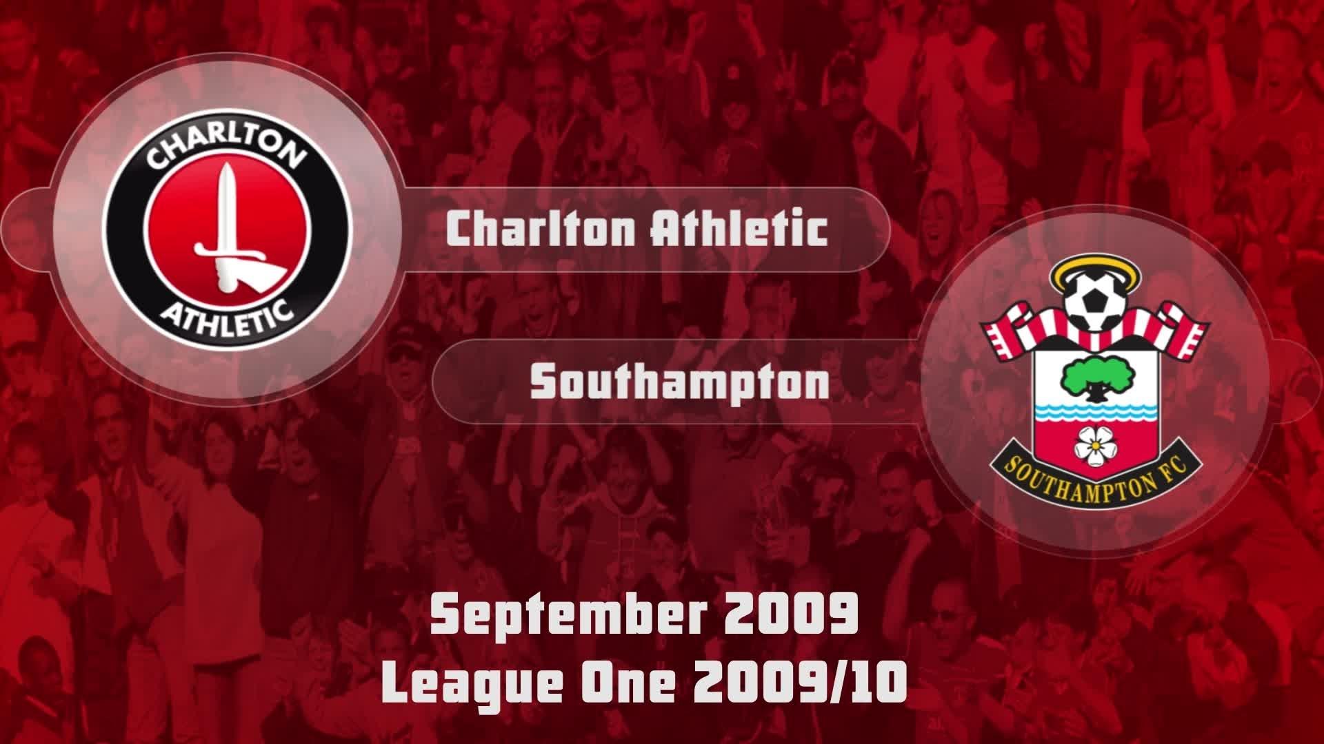 08 HIGHLIGHTS | Charlton 1 Southampton 1 (Sept 2009)