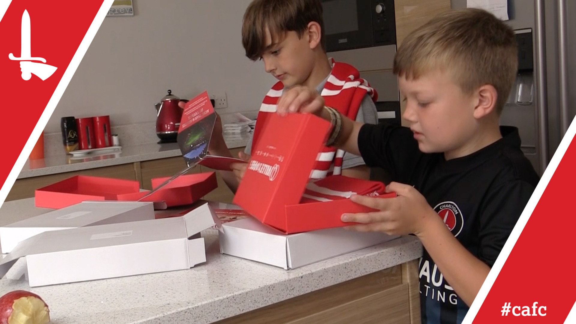 Ricky Holmes delivers season tickets to fans