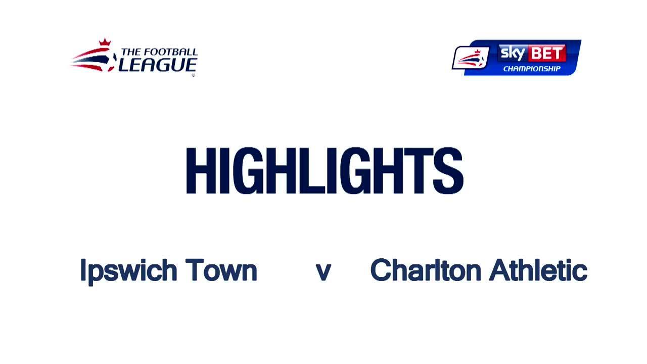 44 HIGHLIGHTS |  Ipswich 0 Charlton 0 (April 2016)