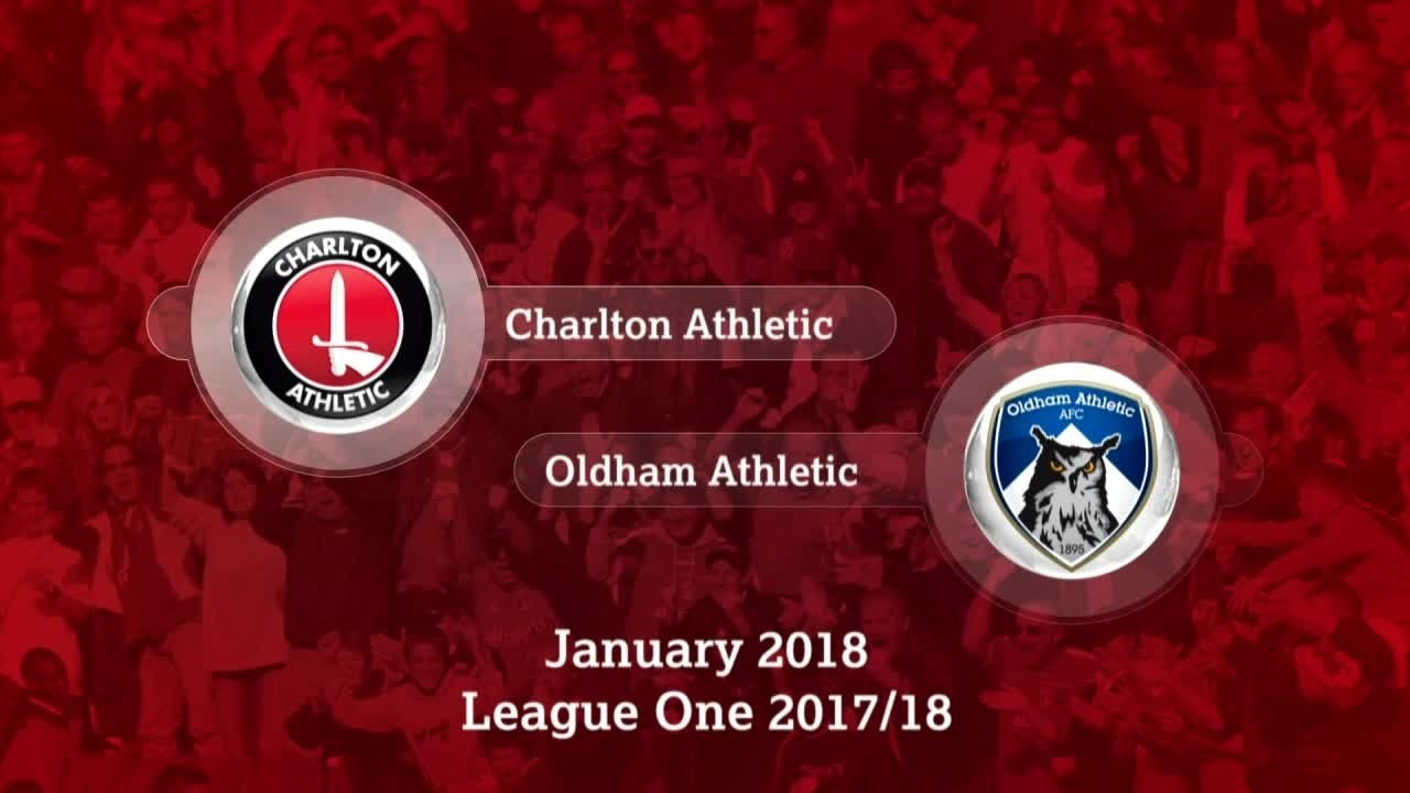 GOALS | Charlton 1 Oldham 0 (Jan 2018)