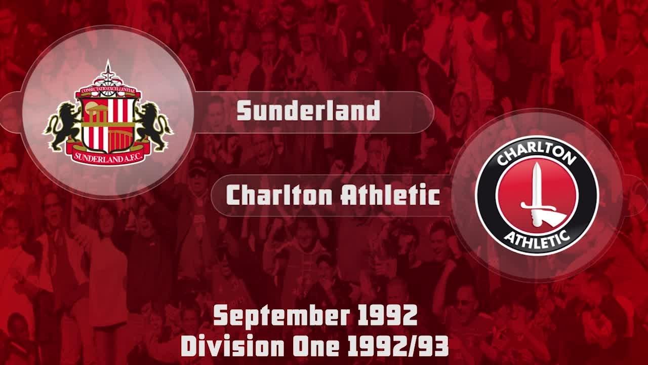 07 HIGHLIGHTS | Sunderland 0 Charlton 2 (Sept 1992)