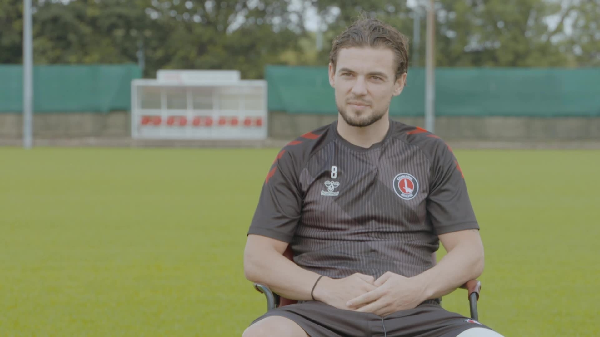 Jake Forster-Caskey on signing a new contract with Charlton (July 2021)
