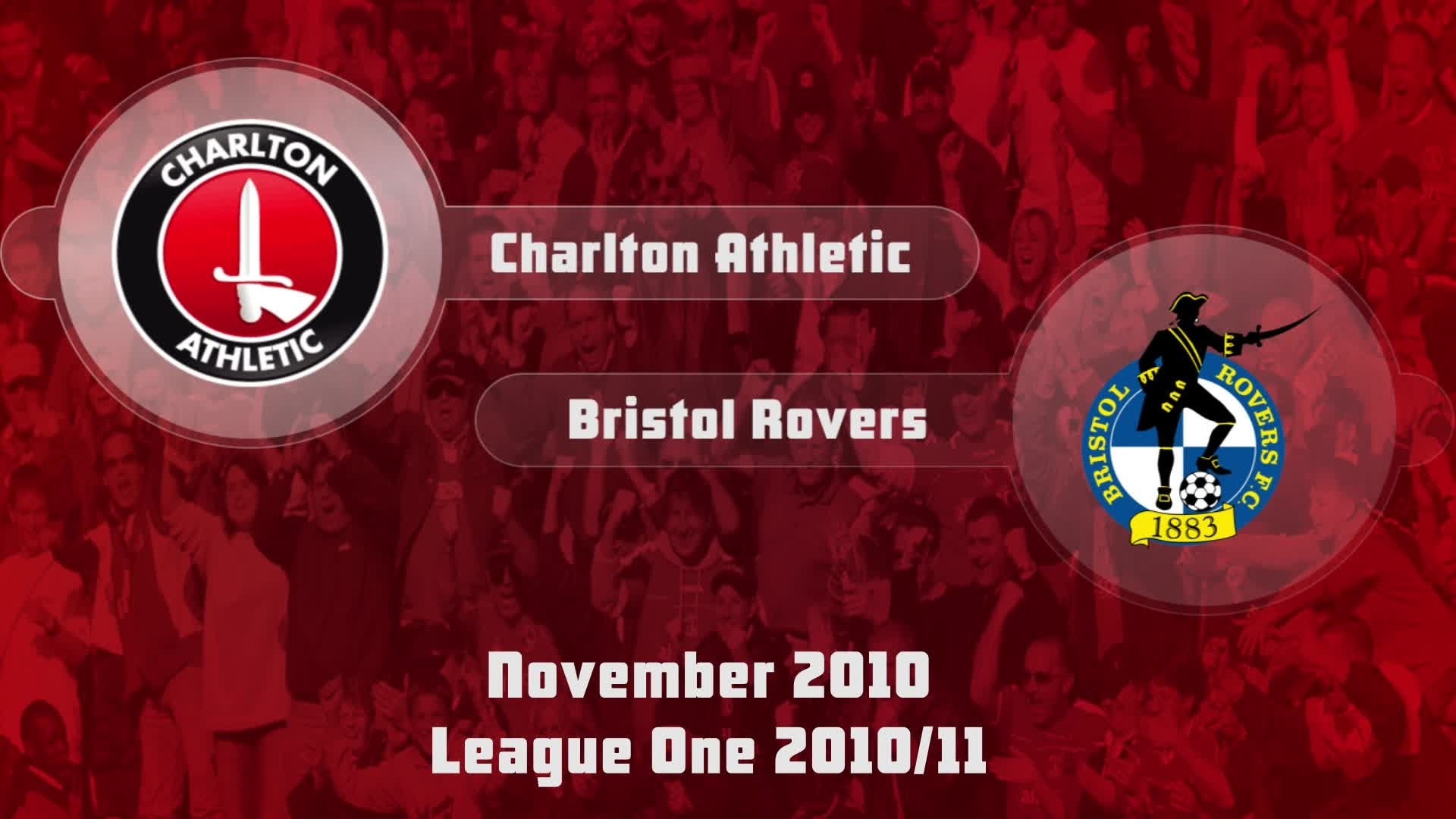 24 HIGHLIGHTS | Charlton 1 Bristol Rovers 1 (Nov 2010)