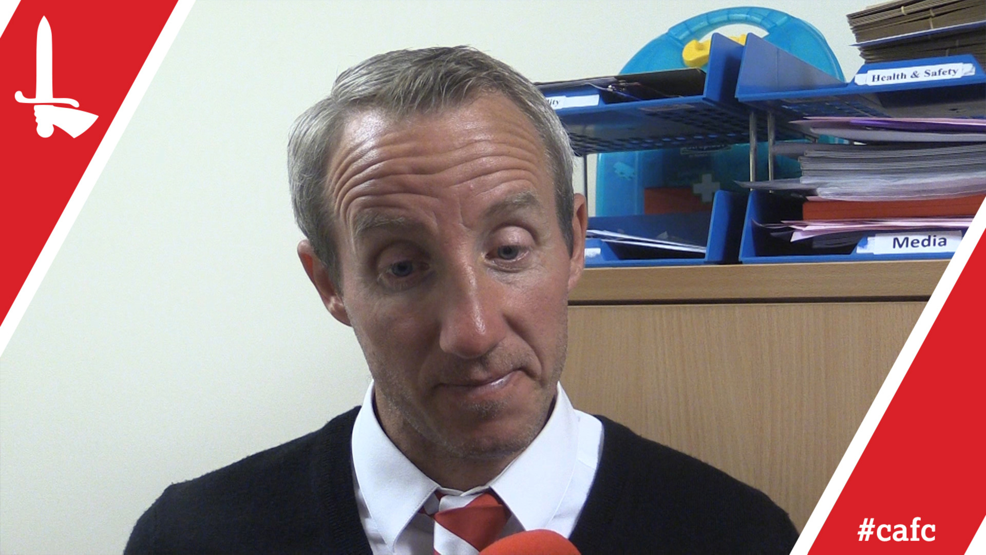 Lee Bowyer speaks following Charlton's play-off second leg at Shrewsbury
