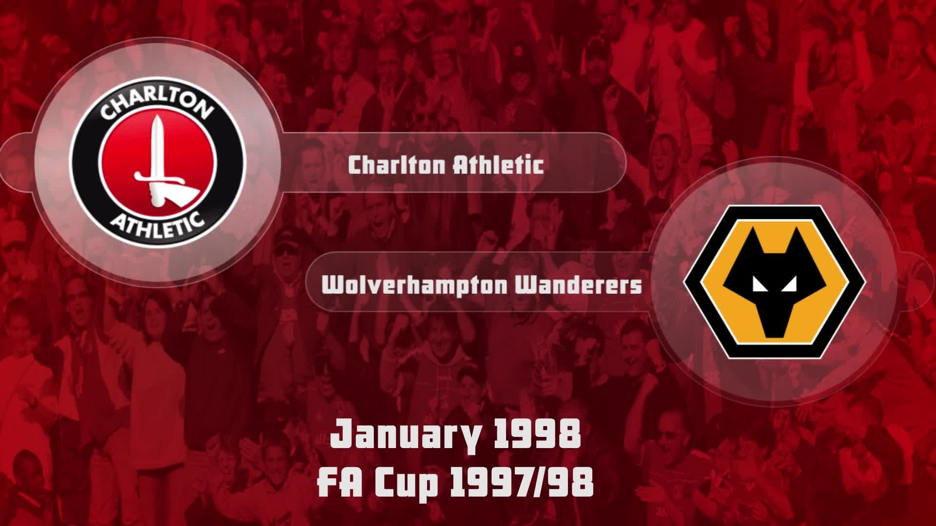 31 HIGHLIGHTS | Charlton 1 Wolves 1 (FA Cup Jan 1998)