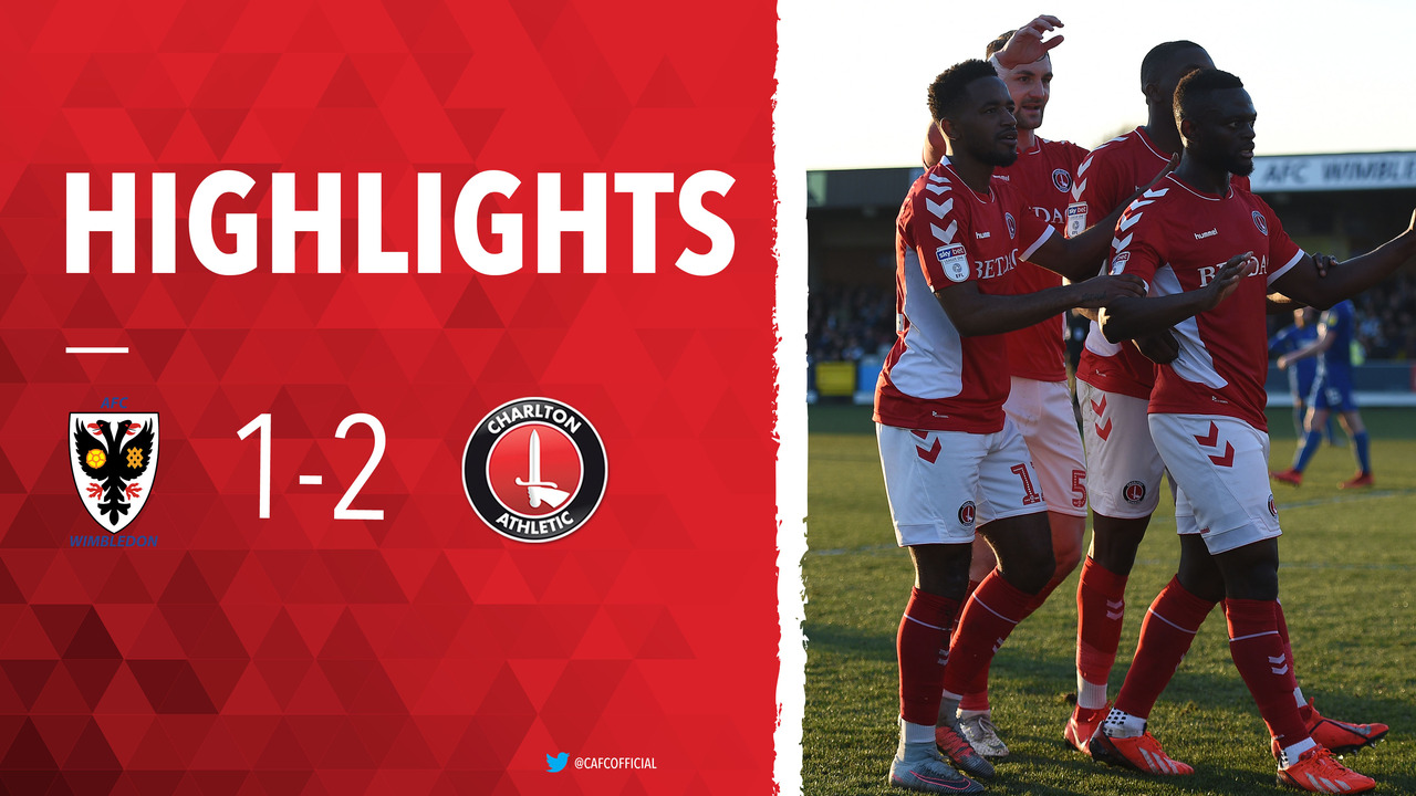 41 HIGHLIGHTS | AFC Wimbledon 1 Charlton 2 (February 2019)