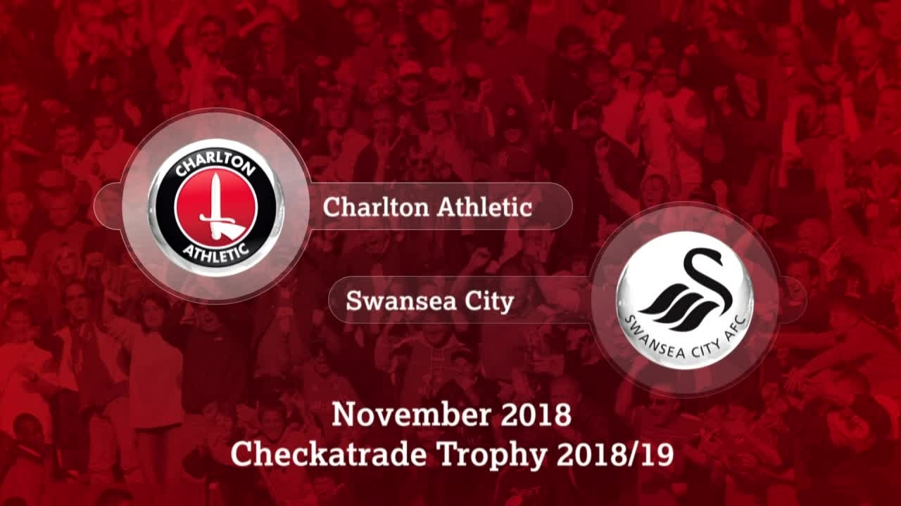 GOALS | Charlton 0 Swansea City U21 1 (EFL Trophy November 2018)