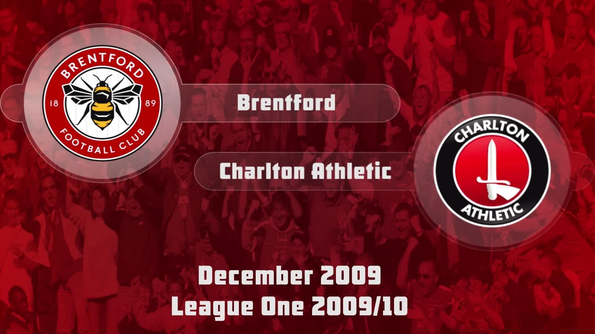 28 HIGHLIGHTS | Brentford 1 Charlton 1 (Dec 2009)
