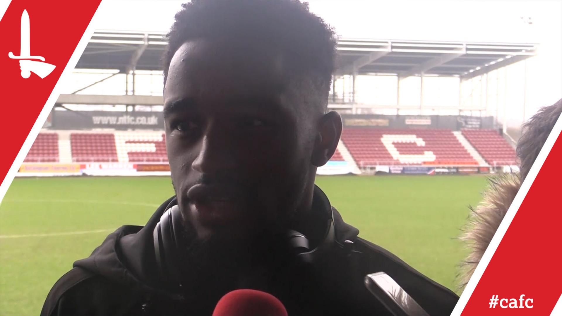 Two-goal Tariqe Fosu on Charlton's 4-0 win at Northampton Town