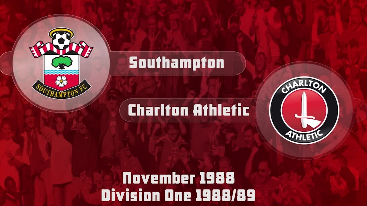 14 HIGHLIGHTS | Southampton 2 Charlton 0 (Nov 1988)