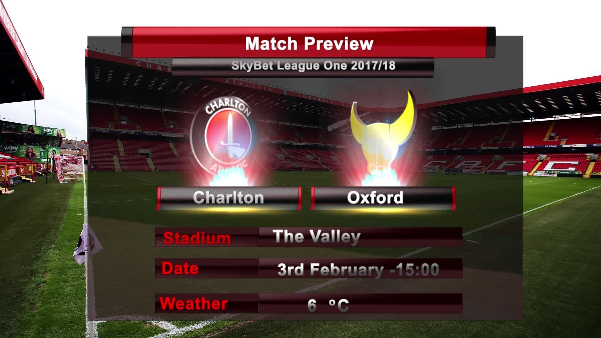 MATCH PREVIEW | Charlton vs Oxford