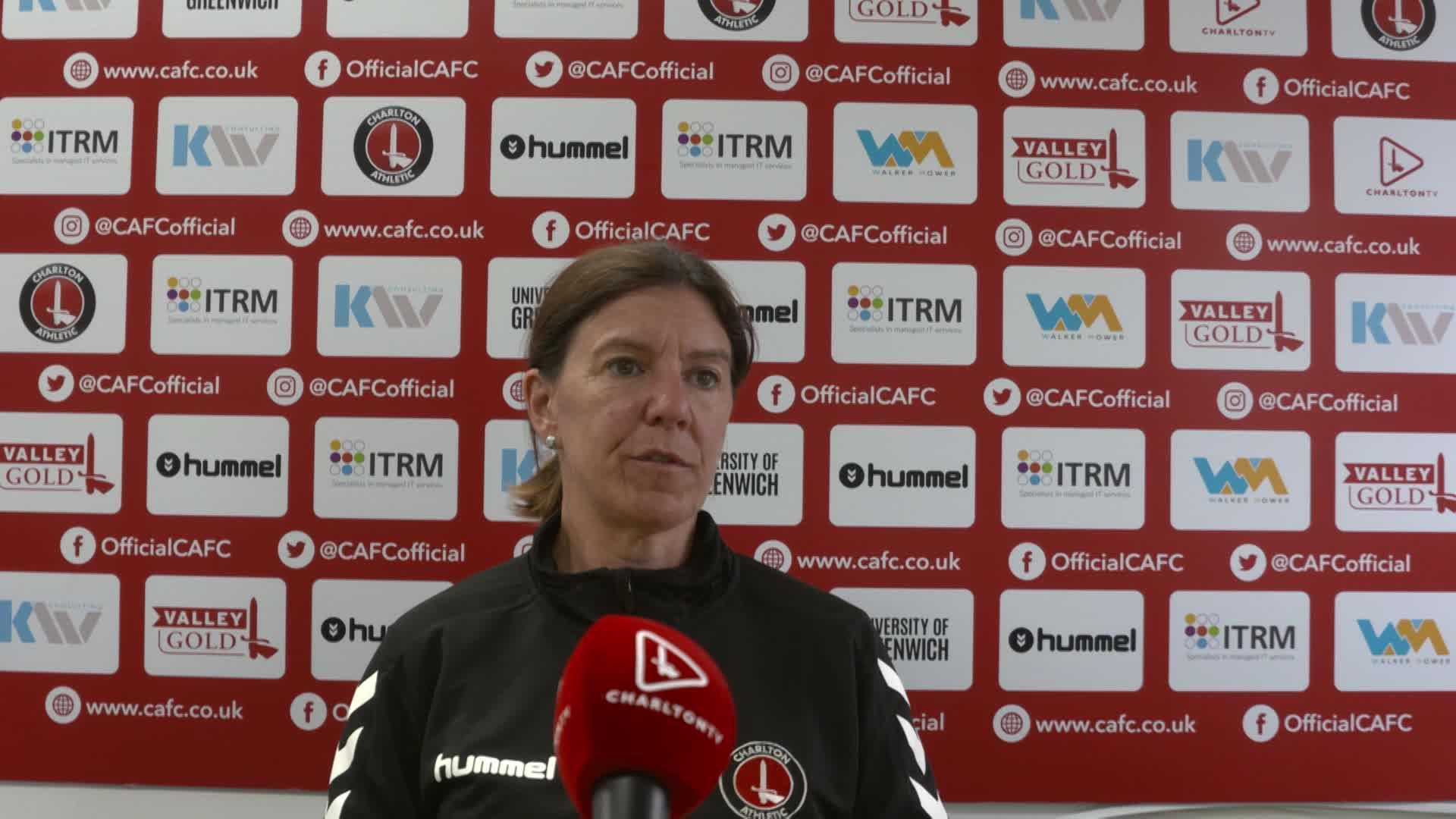 Karen Hills' pre-Coventry United press conference (September 2021)