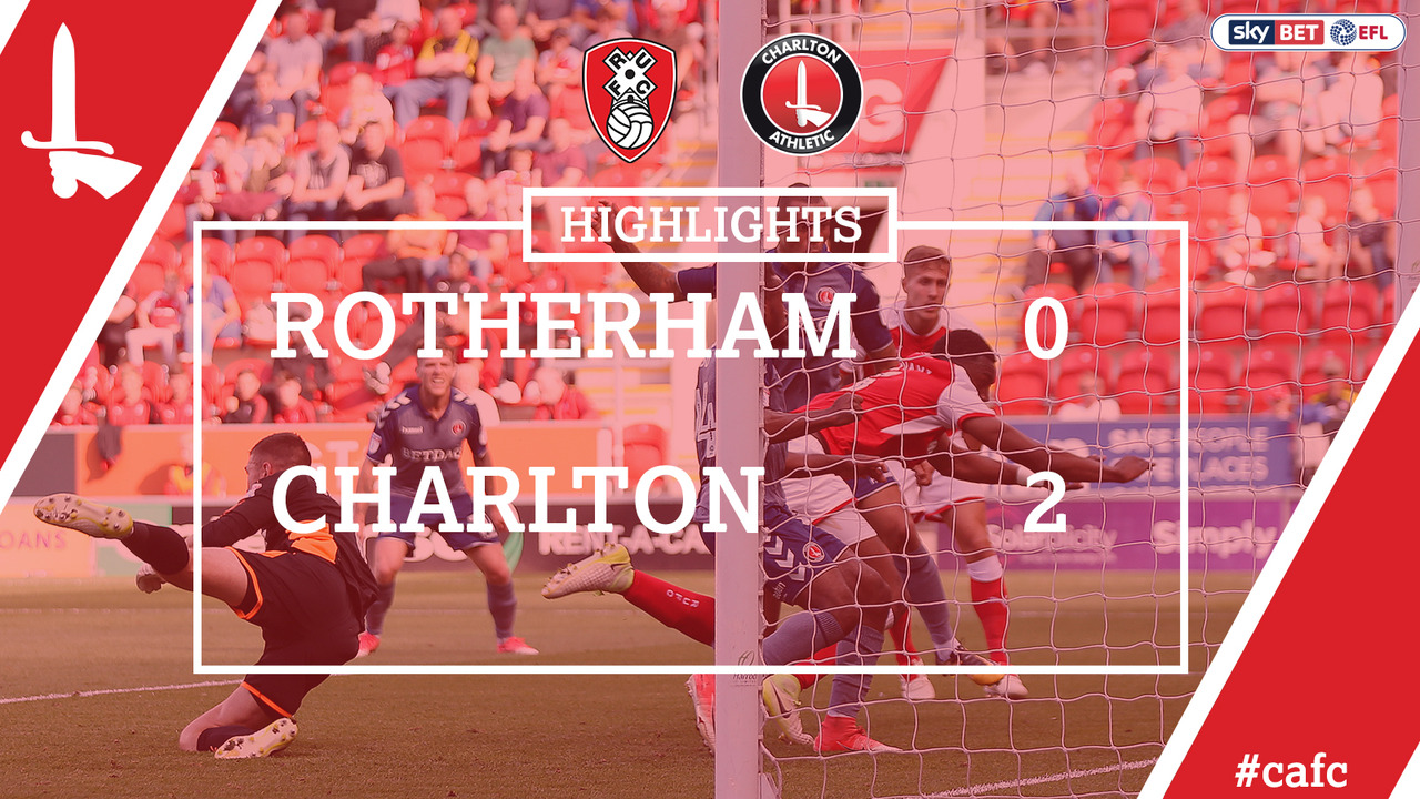 06 EXTENDED HIGHLIGHTS   Rotherham 0 Charlton 2 (Aug 2017)
