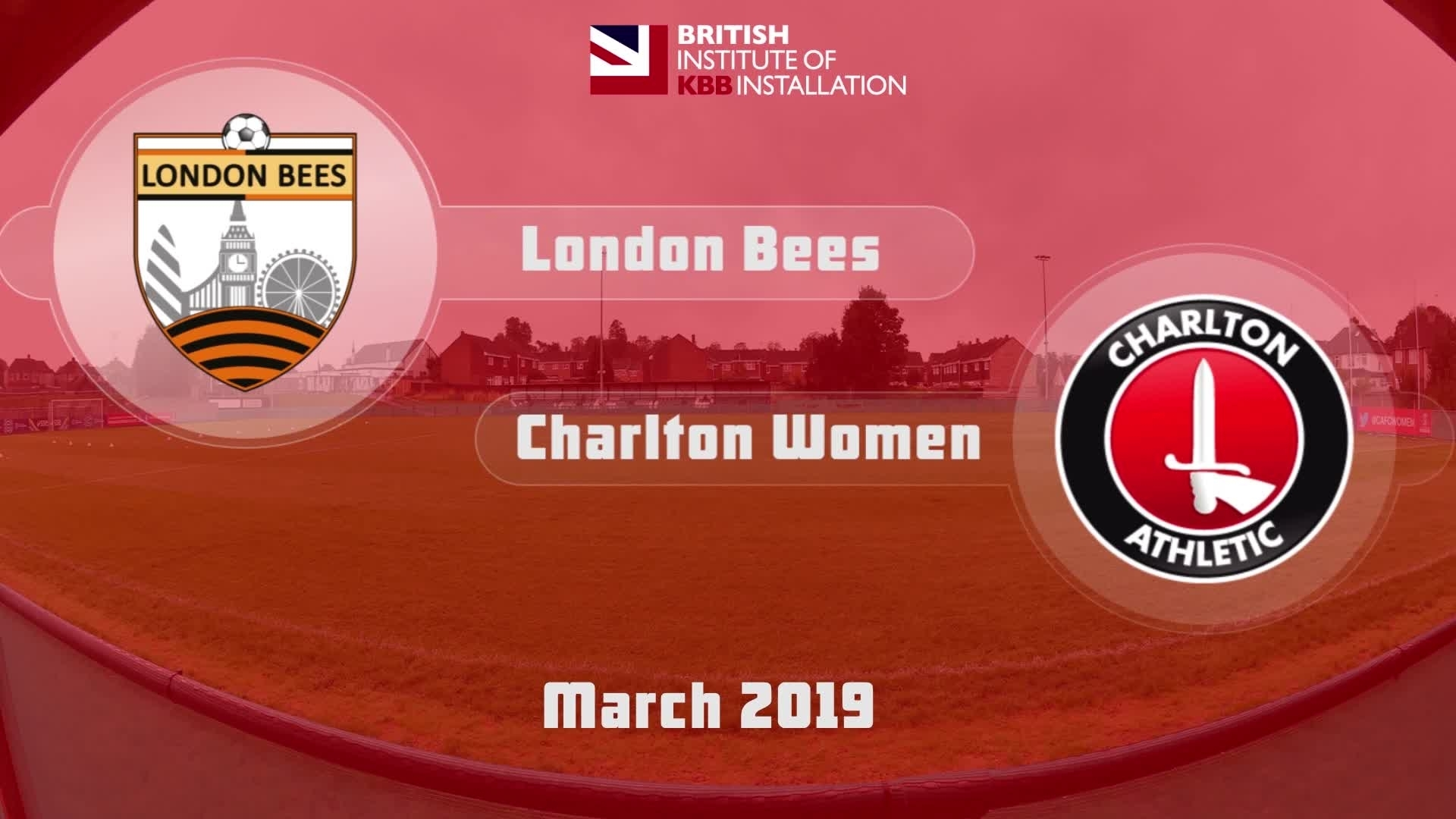 WOMEN'S HIGHLIGHTS | London Bees 1 Charlton Women 2 (March 2019)