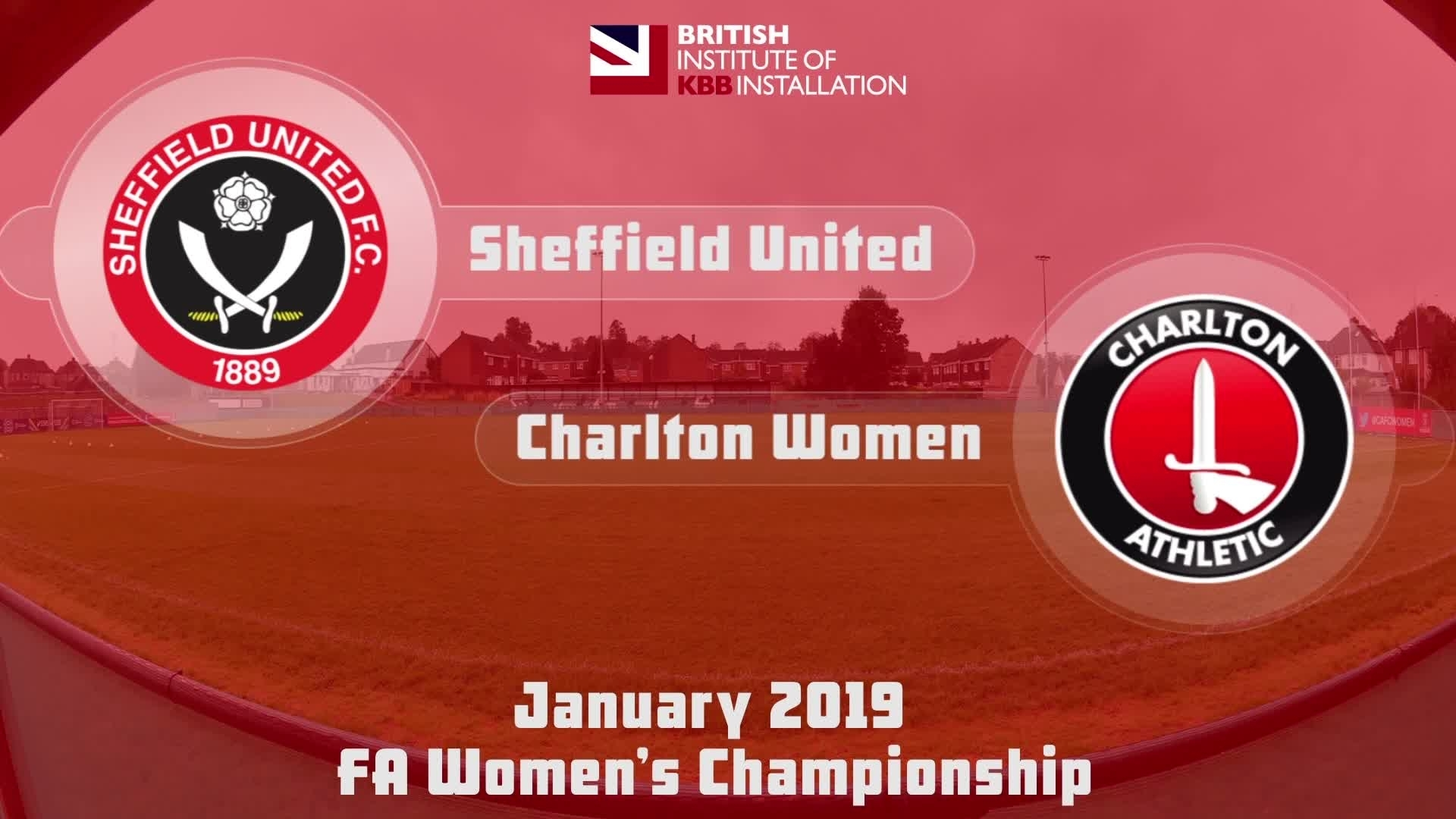 WOMEN HIGHLIGHTS | Sheffield United 2 Charlton 3 (Jan 2019)