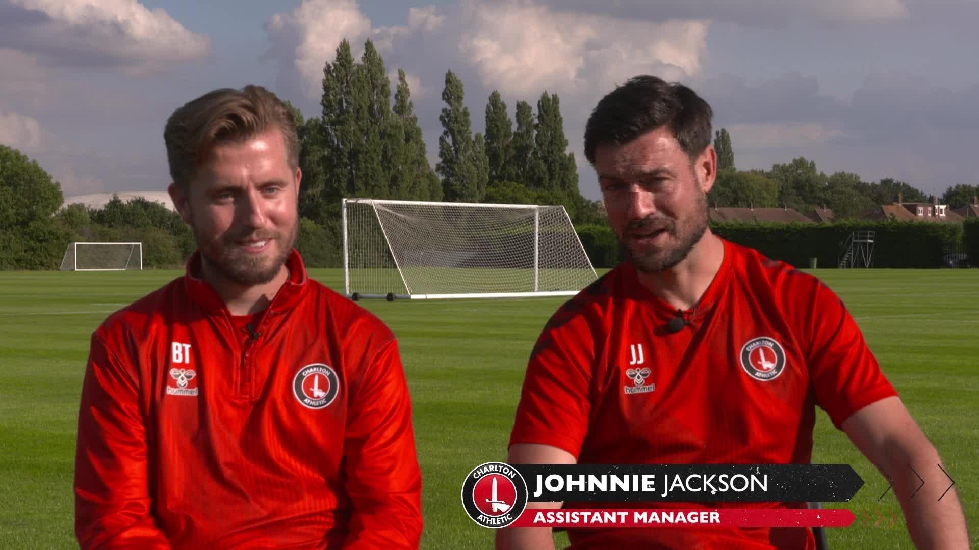 Jackson and Talbot look ahead to the London Marathon (September 2021)