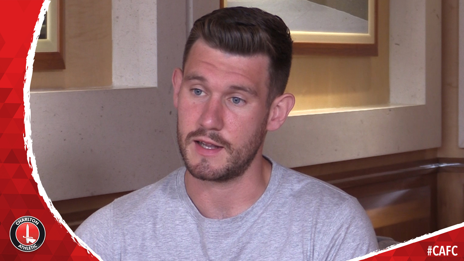FIRST INTERVIEW | Jed Steer joins Charlton on loan from Aston Villa