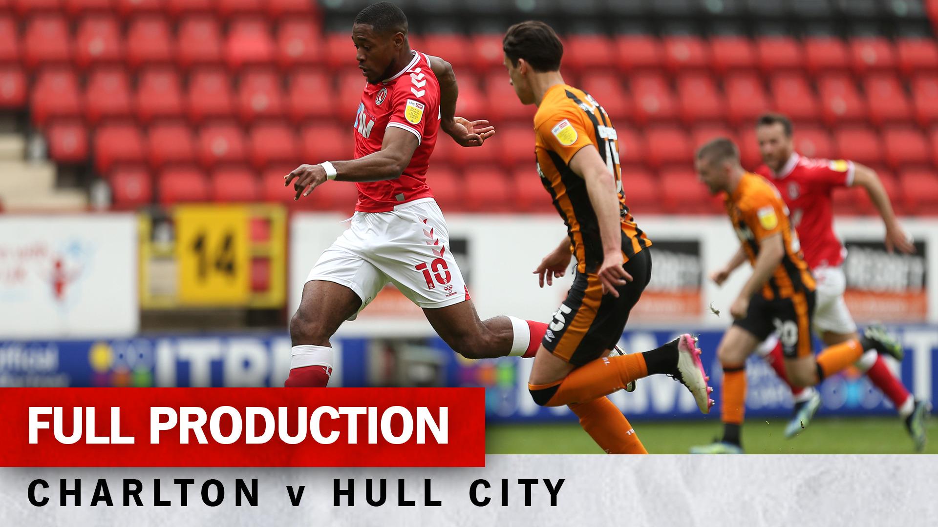 Charlton TV | Full broadcast - Hull City (h) (May 2021)