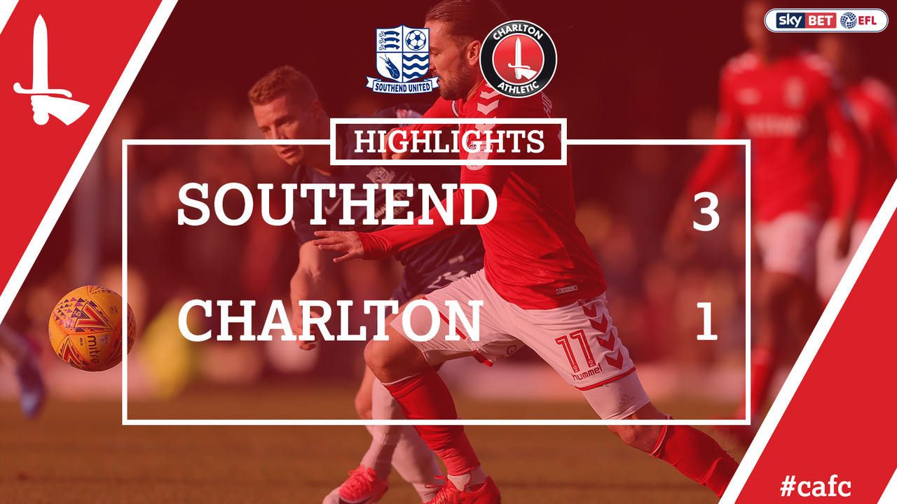 31 HIGHLIGHTS | Southend 3 Charlton 1 (Dec 2017)