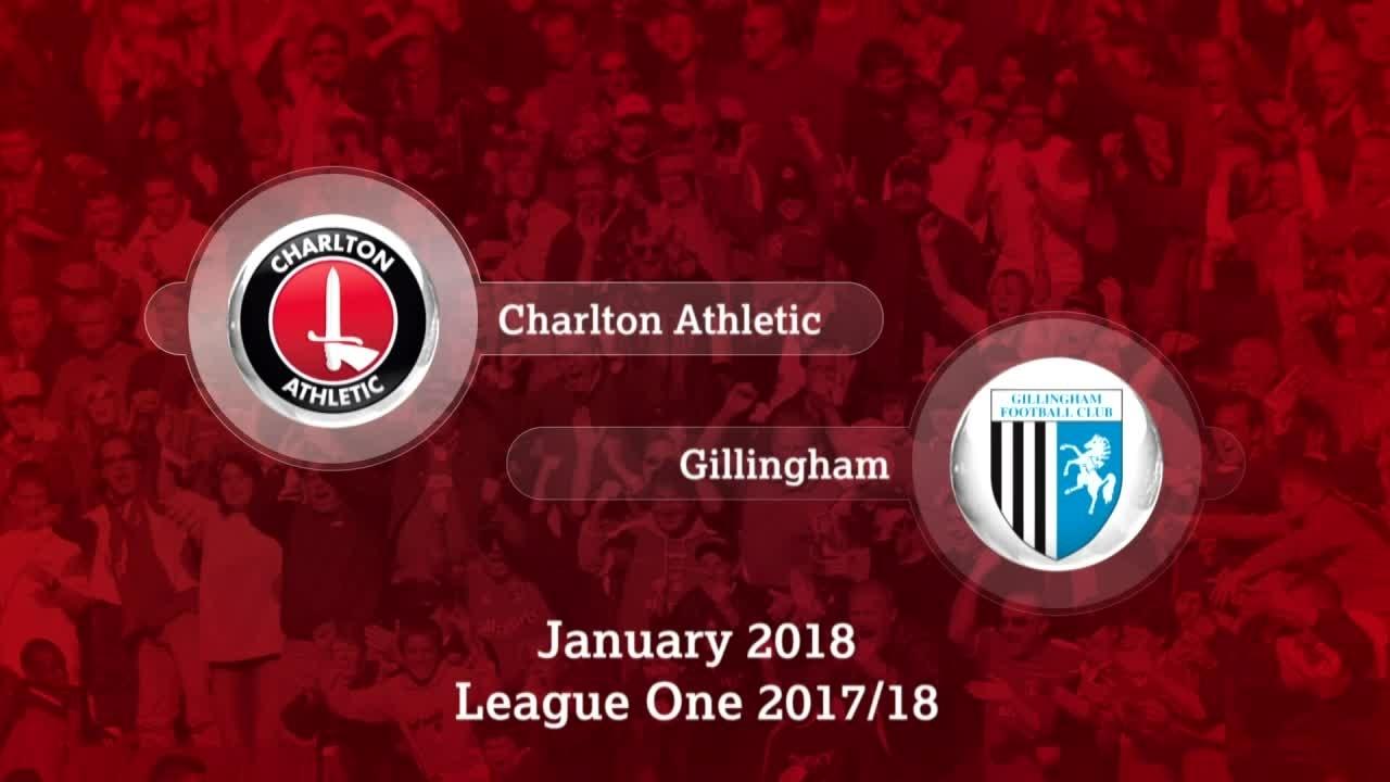 GOALS | Charlton 1 Gillingham 2 (Jan 2018)