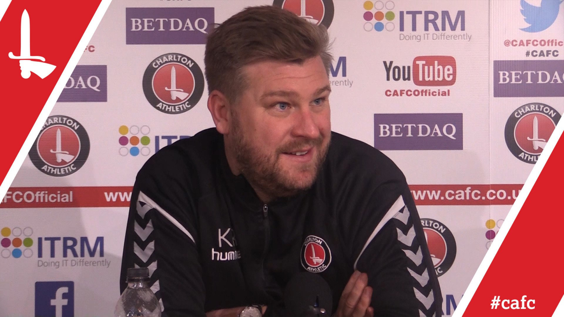 Karl Robinson's pre-Peterborough press conference (Mar 2018)