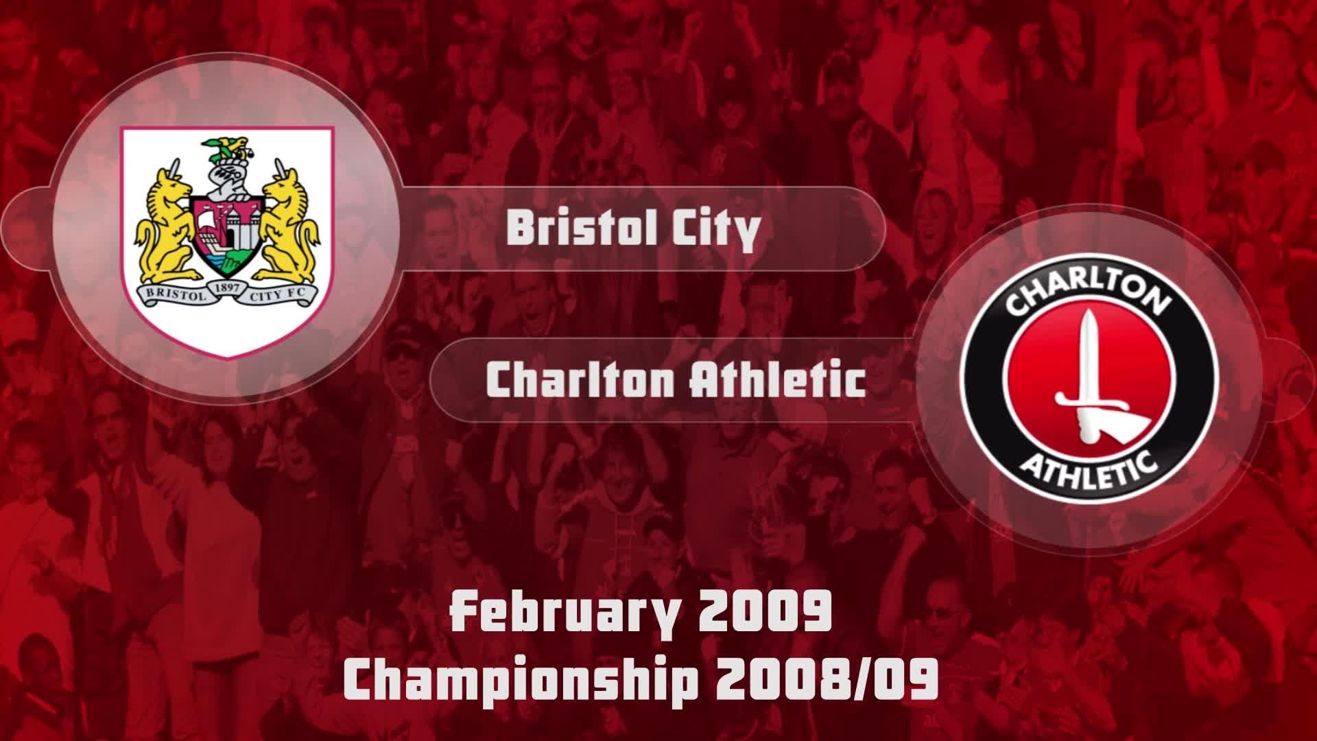 35 HIGHLIGHTS | Bristol City 2 Charlton 1 (Feb 2009)