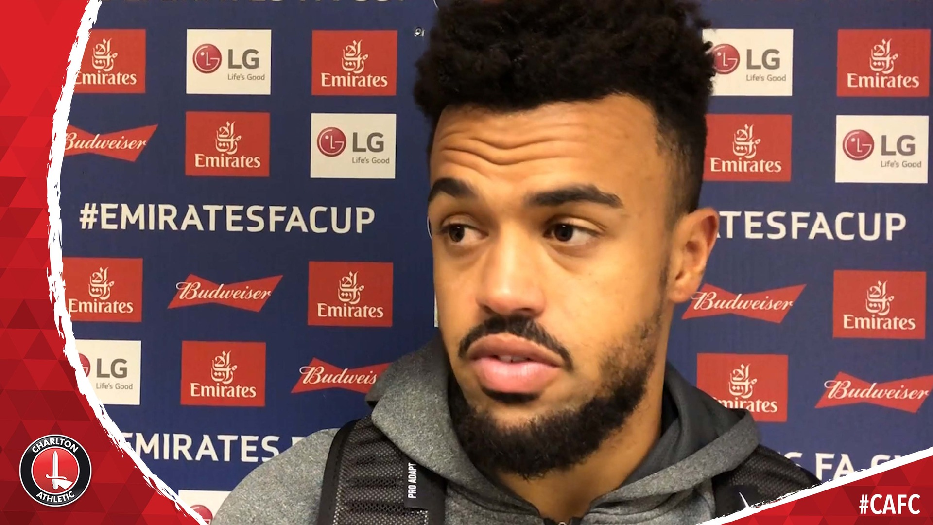 Nicky Ajose on scoring one and assisting two in Charlton's big win over Mansfield