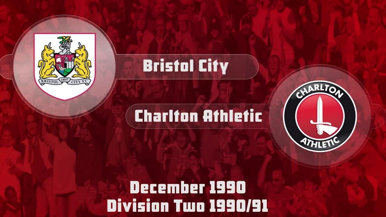 21 HIGHLIGHTS | Bristol City 0 Charlton 1 (Dec 1990)