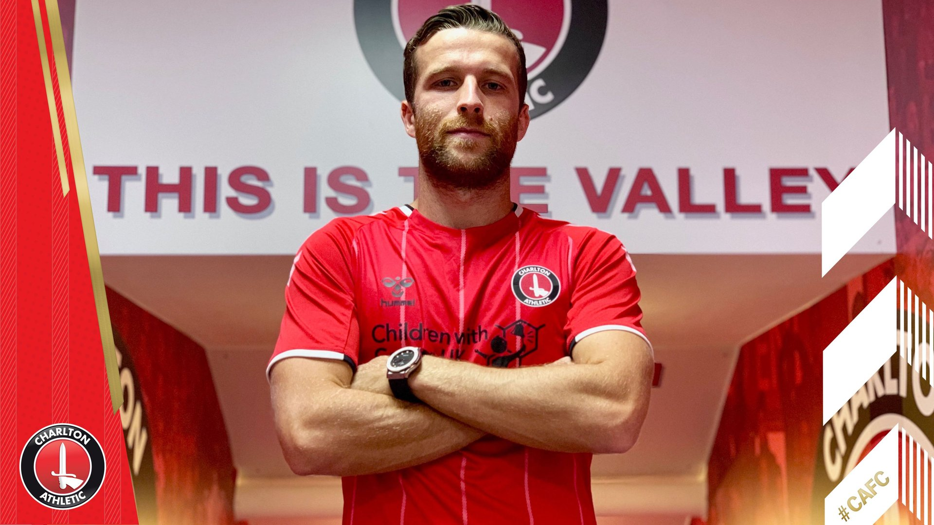 Adam Matthews' first Charlton interview