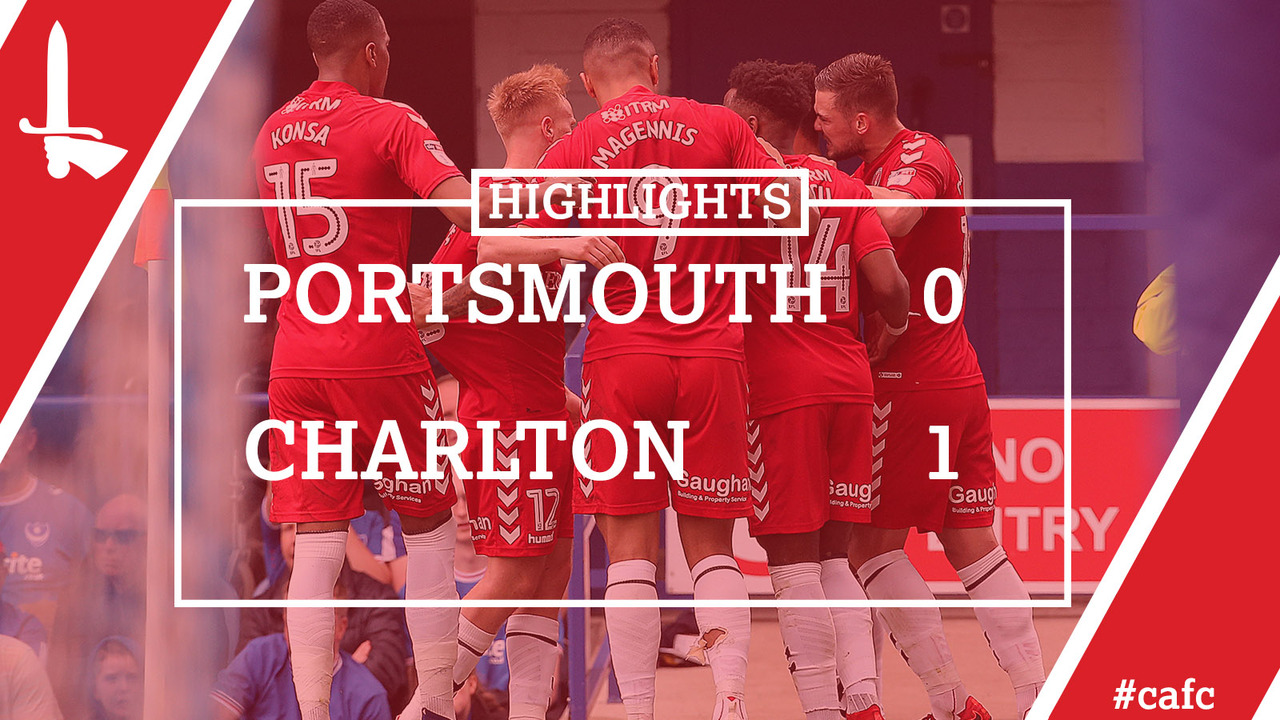 53 HIGHLIGHTS | Portsmouth 0 Charlton 1 (April 2018)