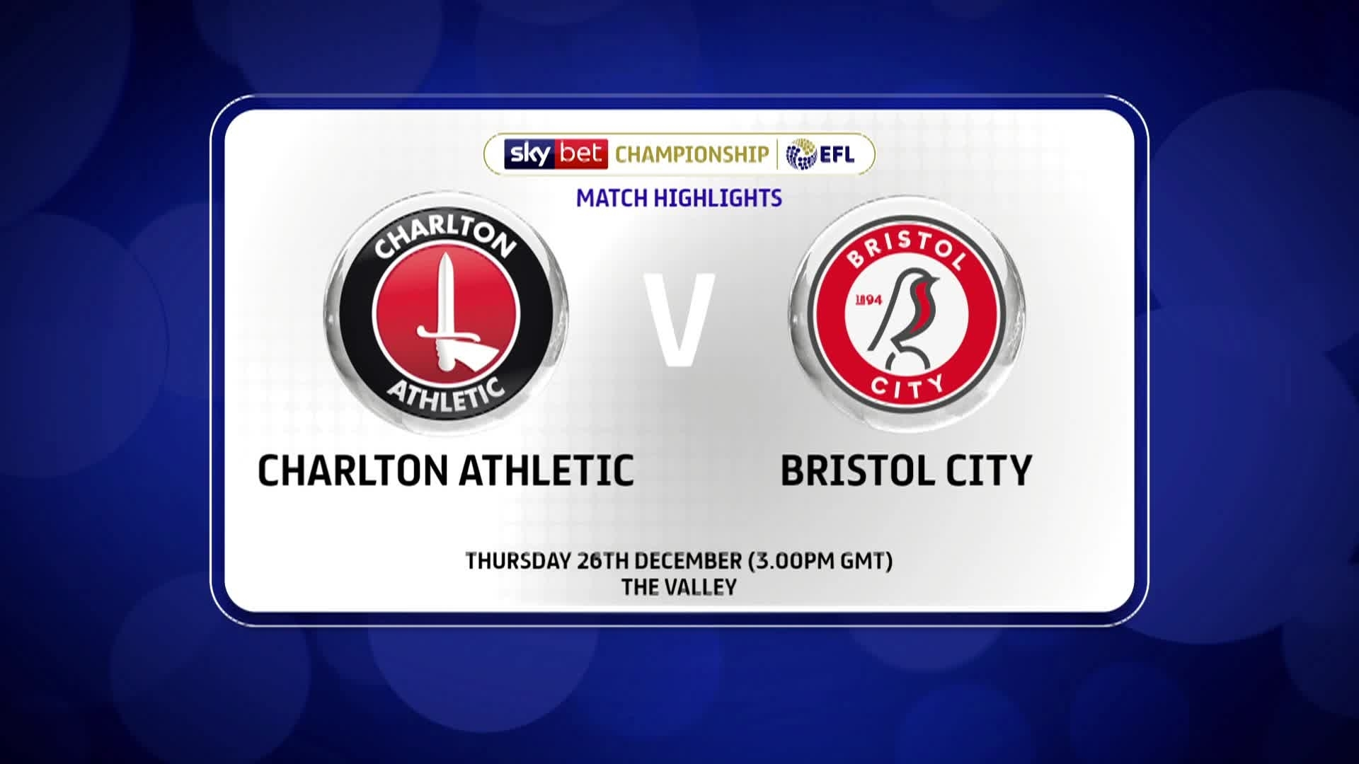 GOALS | Charlton 3 Bristol City 2 (December 2019)
