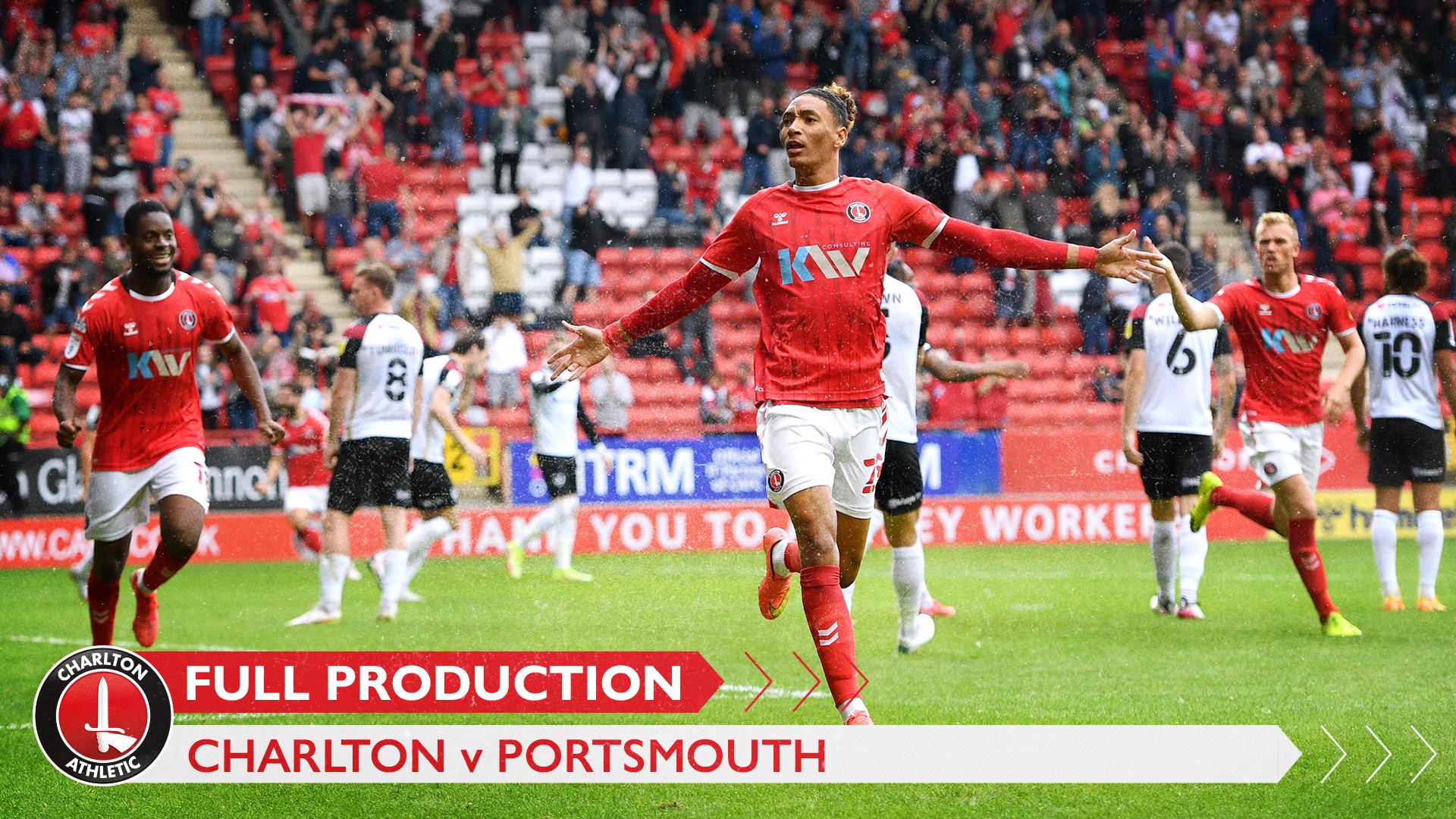 CharltonTV | Full broadcast - Portsmouth (September 2021)