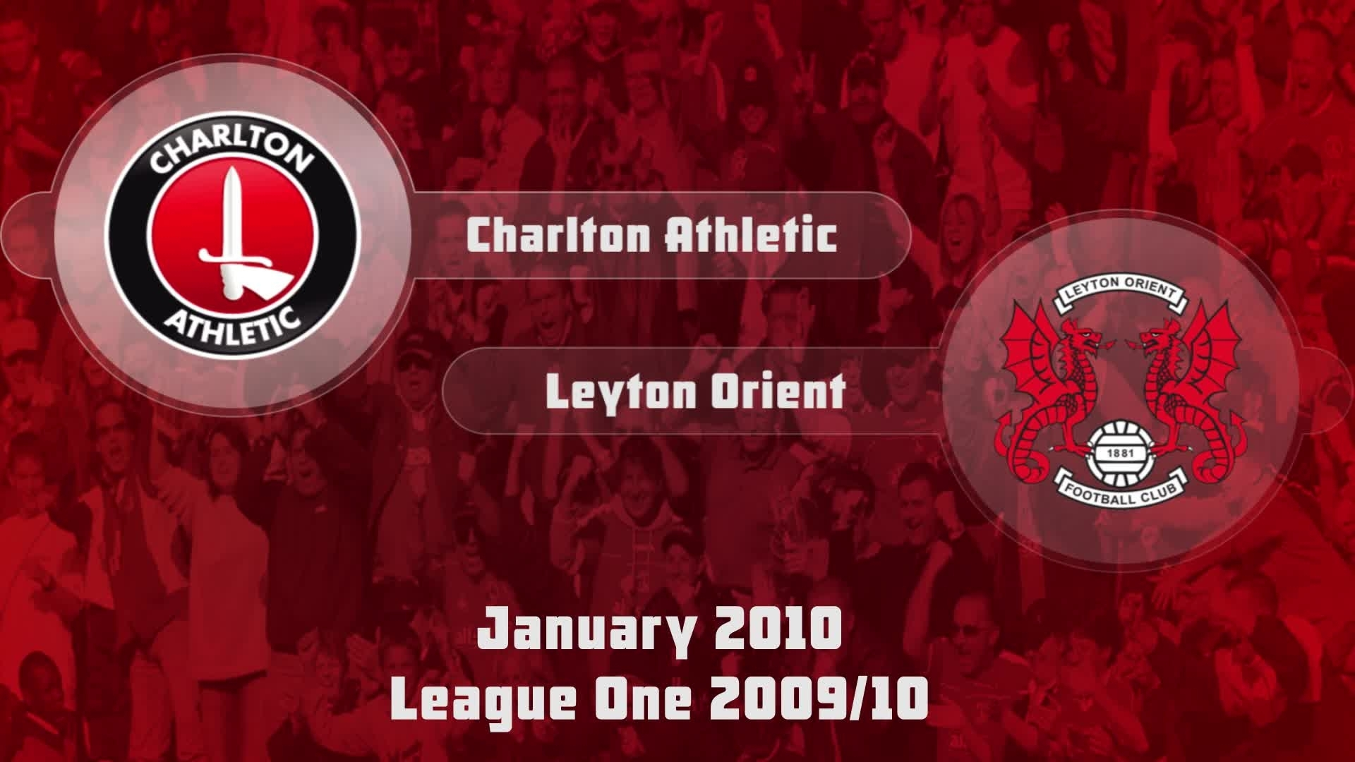 31 HIGHLIGHTS | Charlton 0 Leyton Orient 1 (Jan 2010)