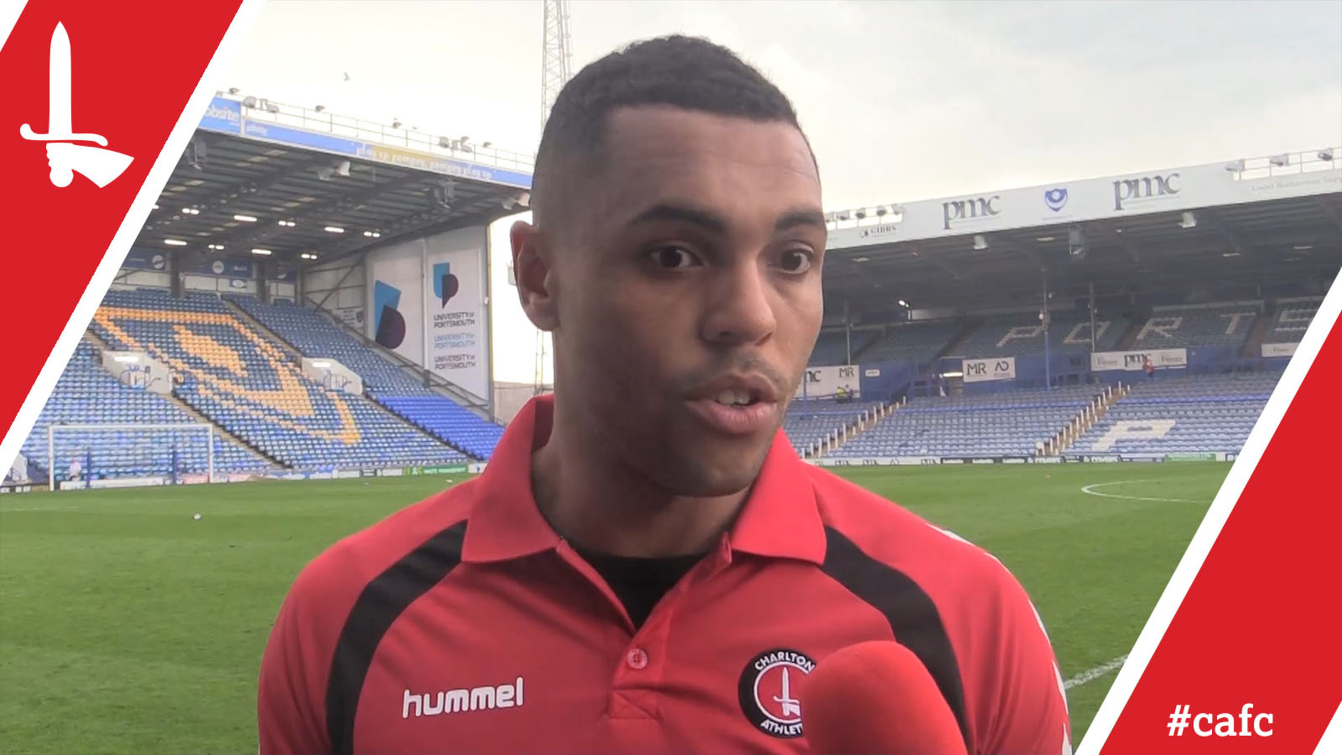 Josh Magennis on Charlton's 1-0 victory at Portsmouth
