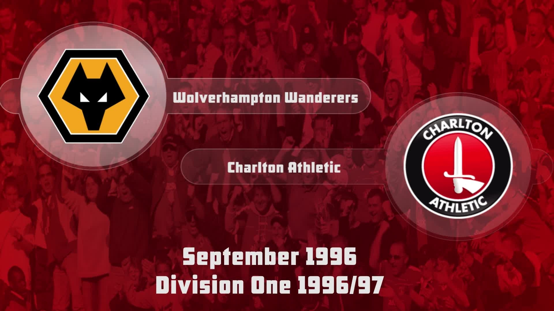 04 HIGHLIGHTS | Wolves 1 Charlton 0 (Sept 1996)